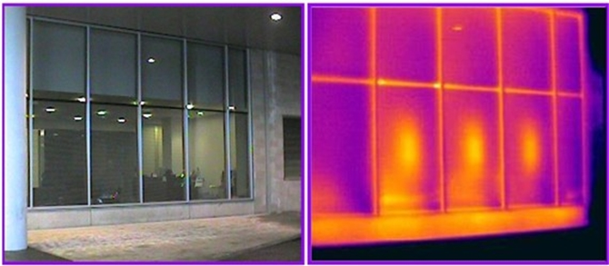 window thermal scan
