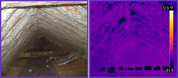 foam insulation defects