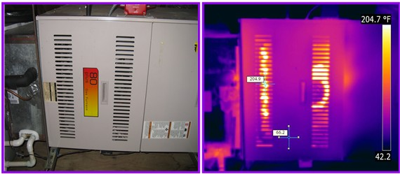 furnace hot spot