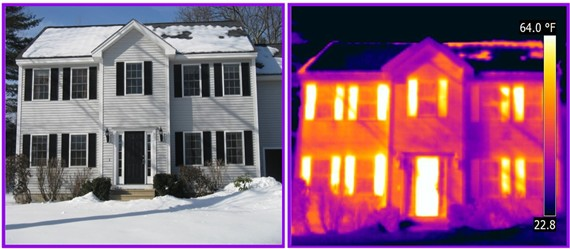 massachusetts infrared exterior house