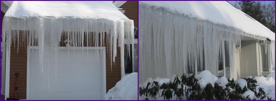 excessive ice dam
