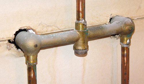 pipe leaks