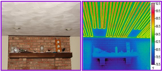 radiant ceiling heat
