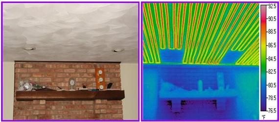 Radiant Ceiling Heat Repair Kit